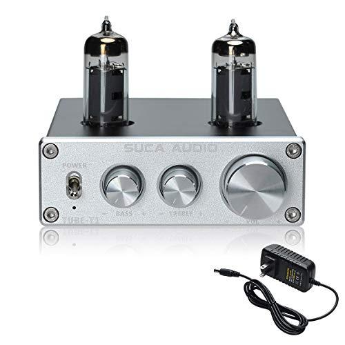 SUCA-AUDIO Tube-T1 Preamplifier, Vacuum Tube Amplifier Buffer Mini...
