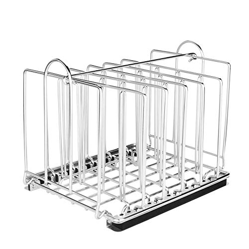 EVERIE Weighted Sous Vide Rack Divider, Improved Vertical Mount Stops...