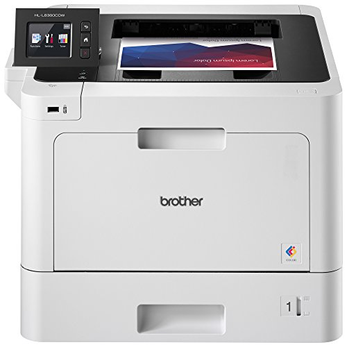 Brother Business Color Laser Printer, HL-L8360CDW, Wireless...