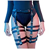 HOMELEX Women's Leg Harness Caged Thigh Holster Garters Harajuku Waist...