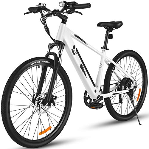 ANCHEER 27.5' Aluminum 700C Electric Bike, 350w Adults Electric...