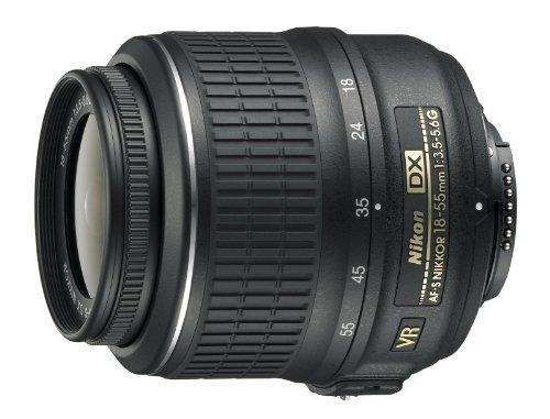 Nikon 18-55mm f/3.5-5.6G AF-S DX VR Nikkor Zoom Lens - White Box (New)...