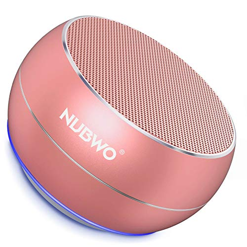 NUBWO Portable Bluetooth Speakers with HD Audio and Enhanced Bass,...