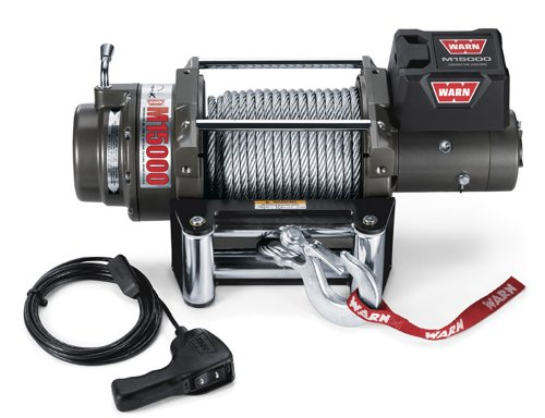 WARN 47801 M15000 Series Electric 12V Heavyweight Winch with Steel...
