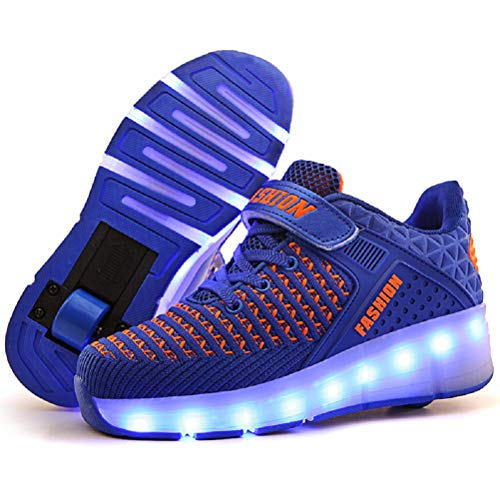 Ufatansy LED Shoes USB Charging Flashing Sneakers Light Up Roller...