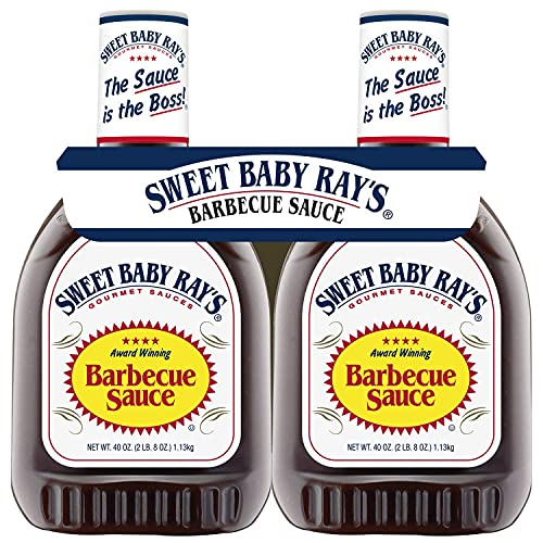 Sweet Baby Ray's Barbecue Sauce (40 oz. bottle, 2 pk.)