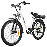 26' Electric City Bike, Removable 12.5Ah Lithium-ion Battery Pack...
