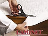 LAMINET - Deluxe Cushioned Heavy-Duty Customizable Quilted Table Pad -...