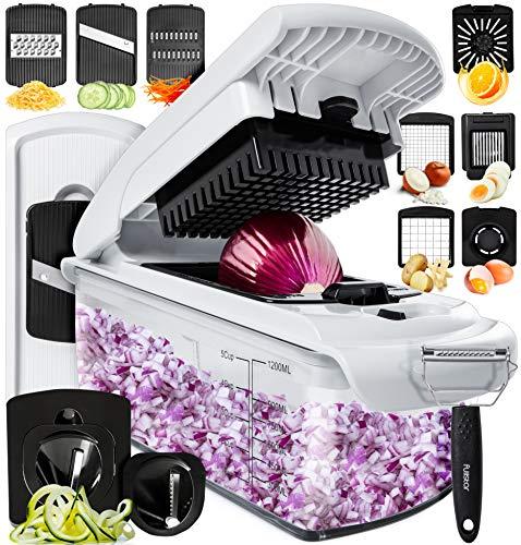 Fullstar Vegetable Chopper Dicer Mandoline Slicer - Food Chopper...