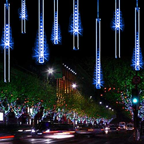 YSIM Meteor Shower Rain Lights,Twinkling Romantic Lights for Party,...