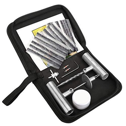 BETOOLL Tire Repair Kit 22 Pcs for Car, Motorcycle, ATV, Jeep, Truck,...