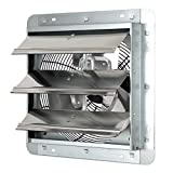 iLiving ILG8SF12V - 12' Wall Mounted Exhaust Fan - Automatic Shutter -...