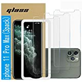 (3 Pack )Amuoc Tempered Glass Film for Apple iPhone 11 Pro MAX...