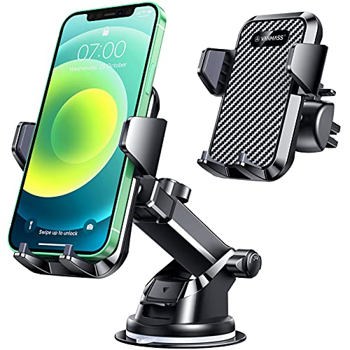 VANMASS Universal Car Phone Mount,【Patent & Safety Certs】Upgraded...