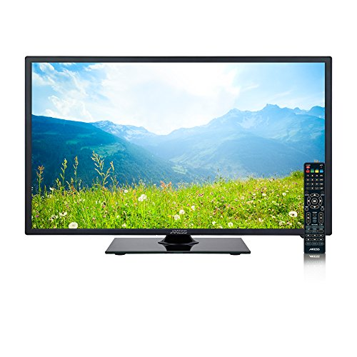 AXESS TV1705-24 24-Inch LED 760p HDTV, Features 1xHDMI/Headphone, RGB...
