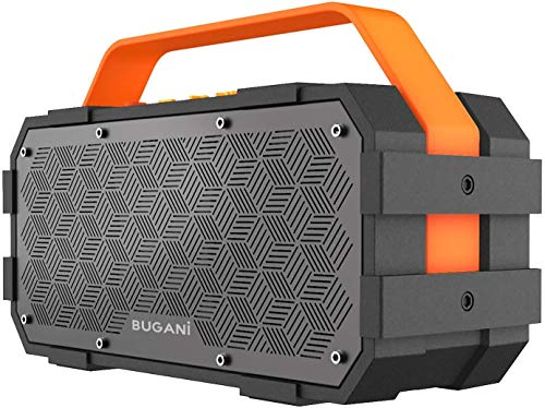 Bluetooth Speaker, Bugani M90 Portable Bluetooth Speaker with 30W...