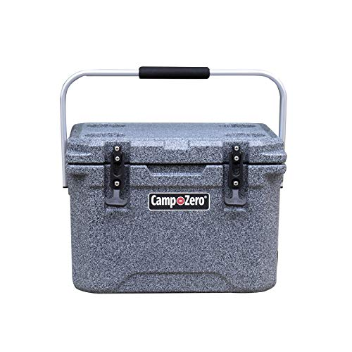 CAMP-ZERO 20 Premium Cooler with 4 Molded-in Cup Holders and Folding...