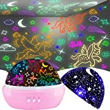 Unicorn Gifts for 3-9 Year Old Girls,Night Lights for Kids Room...