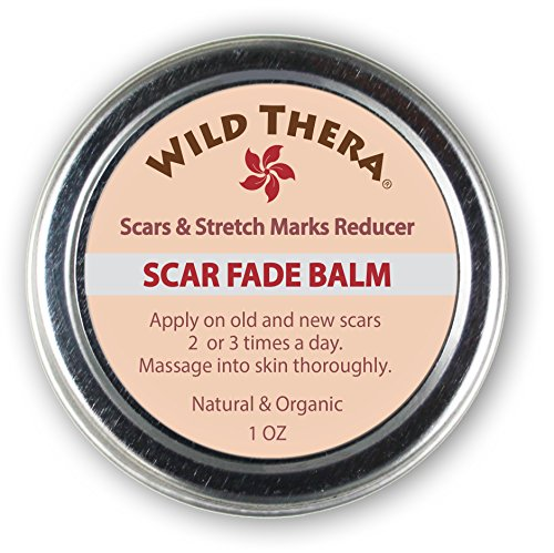 Wild Thera Scar Remover for old scars. Natural Scar Cream for Face,...