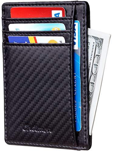 Chelmon Slim Wallet RFID Front Pocket Wallet Minimalist Secure Thin...