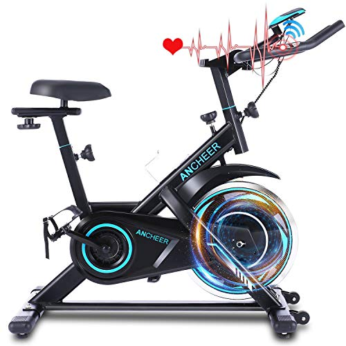 ANCHEER Exercise Bike Stationary, 40 Lbs Weight Capacity- Indoor...
