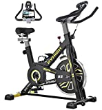 PYHIGH Indoor Cycling Bike Stationary Exercise Bike, Comfortable Seat...