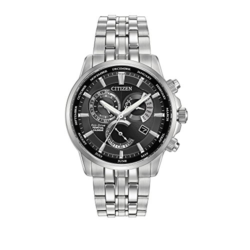 Citizen Men's Eco-Drive Perpetual Calendar Watch with Month/Day/Date,...