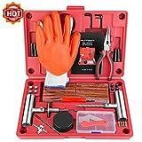 AUTOWN Tire Repair Kit, 75 Pcs Tire Plug Kit Universal Tire Repair...