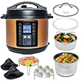 Yedi 9-in-1 Total Package Instant Programmable Pressure Cooker, 6...