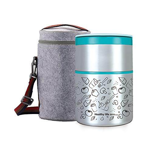 Lille Home 32OZ Vacuum Insulated Stackable Stainless Steel Thermal...