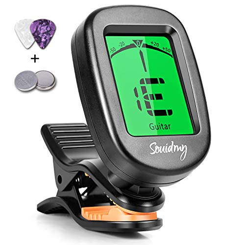 Souidmy Guitar Tuner, with Guitar, Bass, Violin, Ukulele and Chromatic...