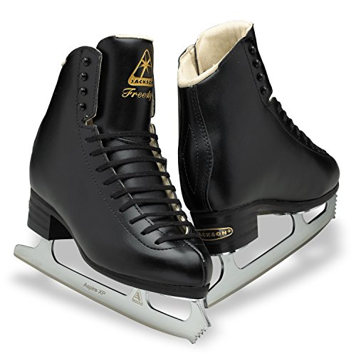 Jackson DJ2193 Freestyle Boys Ice Skates Black Single Jump Level...