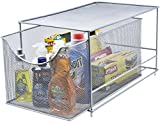 Sorbus Cabinet Organizer Drawer with Cover—Mesh Storage Organizer w/...