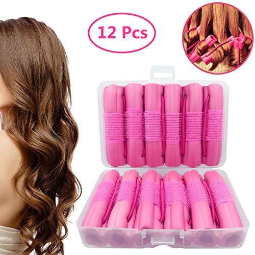 Hair Rollers Curlers, Foam Sponge Hair Curlers, Pillow Hair Curlers,...