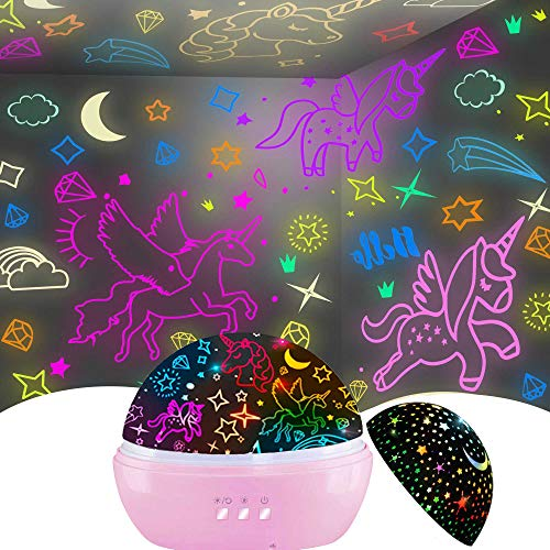 Unicorn Gifts for 3-9 Year Old Girls,Kids Night Light Gifts for Girls...