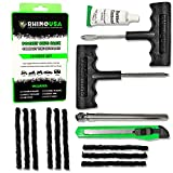 Rhino USA Tire Plug Kit (56-Piece) Repair Punctures & Fix Flats with...