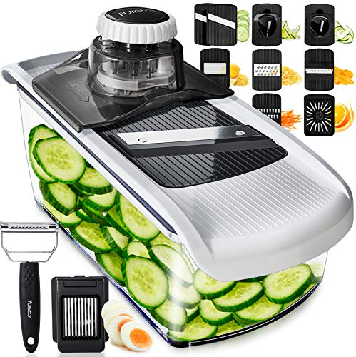 Mandoline Slicer Vegetable Slicer and Vegetable Grater - Potato Slicer...