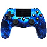 ISHAKO PS4 Controller Wireless Dual Shock Gaming Gamepad with Touch...