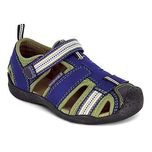 pediped Flex Sahara Sandal (Toddler/Little Kid),Blue,28 EU (11-11.5 M...