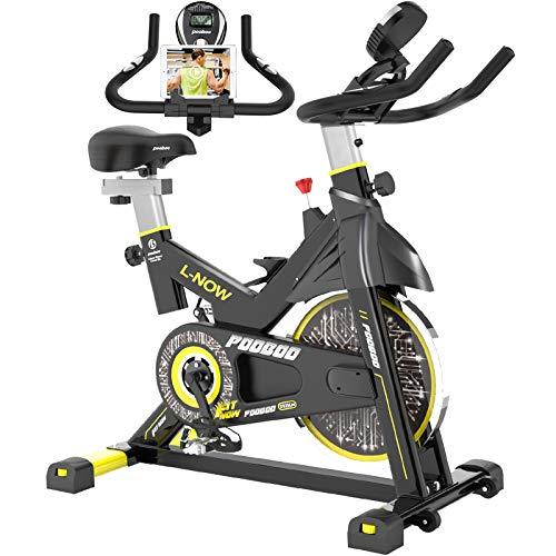 pooboo Indoor Cycling Bike, Belt Drive Indoor Exercise Bike,Stationary...