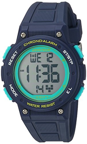 Armitron Sport Women's 45/7086NVY Digital Chronograph Navy Blue Resin...