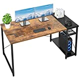 Foxemart Computer Desk 47 Inch Home Office Desk Industrial Sturdy...