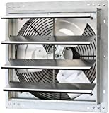 iLiving - 16' Wall Mounted Exhaust Fan - Automatic Shutter - Variable...