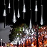 OMGAI Waterproof Meteor Shower Rain Lights - 30cm 8 Tubes Drop Icicle...