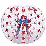 Oanon Inflatable Bumper Ball 1.2M 4FT/1.5M 5FT Diameter Bubble Soccer...