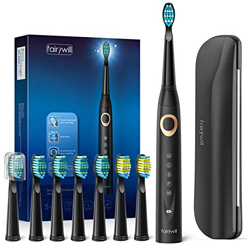 Fairywill Sonic Electric Toothbrush for Adults and Kids, ADA Accepted...