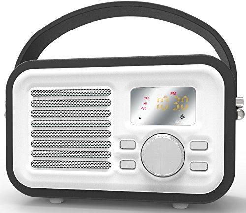 Bluetooth Speaker, HotNCold Vintage Surround Sound Outdoor Wireless...