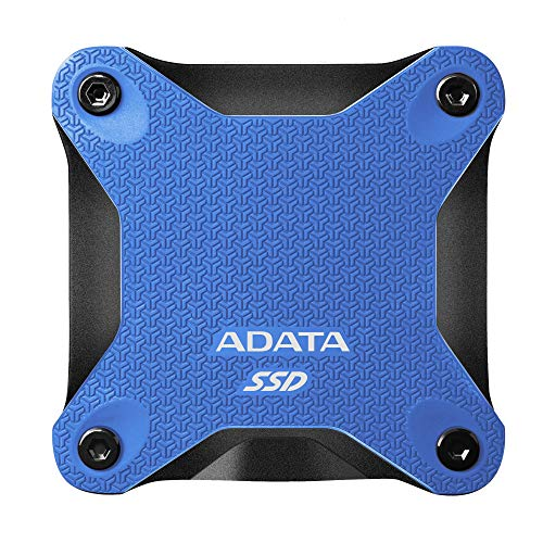 ADATA SD600Q 480GB Ultra-Speed Portable Durable External SSD - Up to...