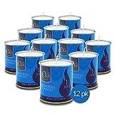 1 Day Yahrzeit Candle - 12 Pack - 24 Hour Kosher Yahrtzeit Memorial...