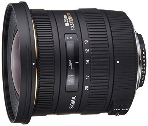 Sigma 10-20mm f/3.5 EX DC HSM ELD SLD Aspherical Super Wide Angle Lens...